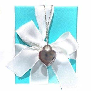 Authentic TIFFANY & CO Vintage Heart Tag Necklace